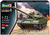Танк T-55AM / T-55AM2B, 1:72, Revell (03306)