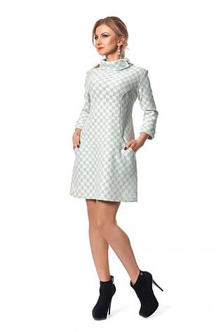 Оригинальное модное короткое женское платье с карманами, фото 2