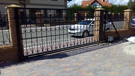Автоматика для октатных ворот FAAC 741 (монтаж)