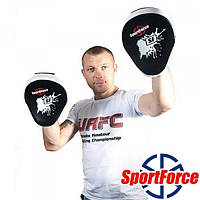 Лапы тренировочные SportForce SF-FP01 для бокса и единоборств