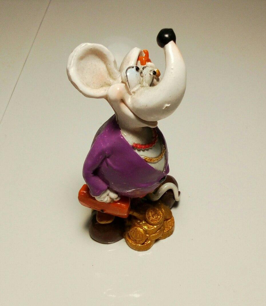 Статуэтка Мышь №1