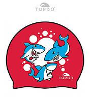 Силиконовая шапочка для плавания Turbo Swim Cap Taurons