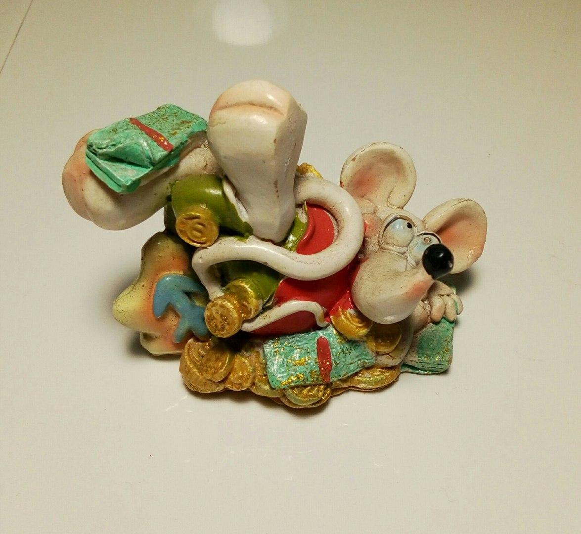 Статуэтка Мышь №8