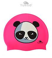 Шапочка для плавания Turbo Swim Cap Panda Bear