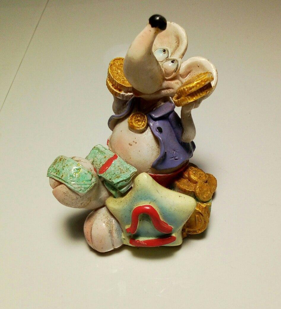 Статуэтка Мышь №10