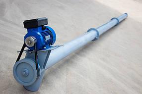 Шнековые погрузчики Ø 130 мм. производительностью 4-8 тонн в час.