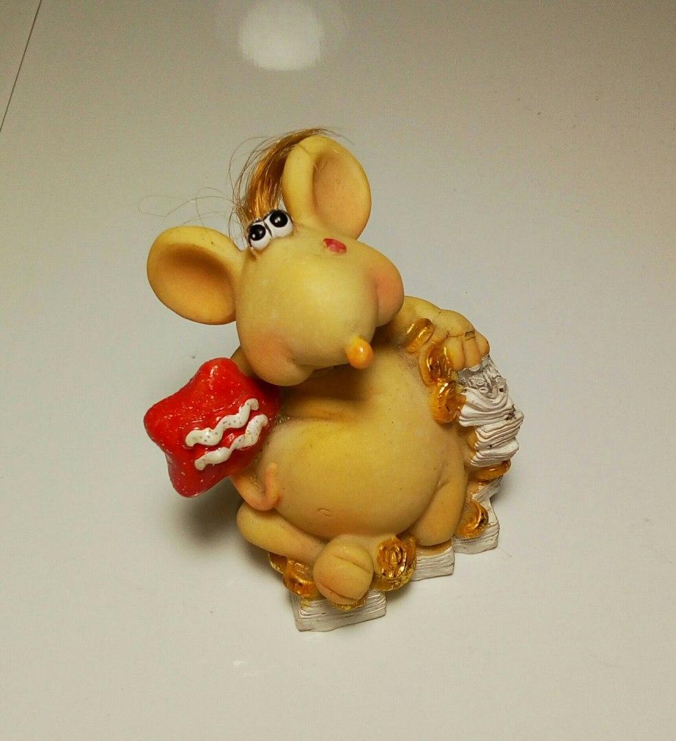 Статуэтка Мышь №15