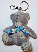 Брелок с карабином на ключи и сумку Плюшевый Мишка Тедди 11 см.