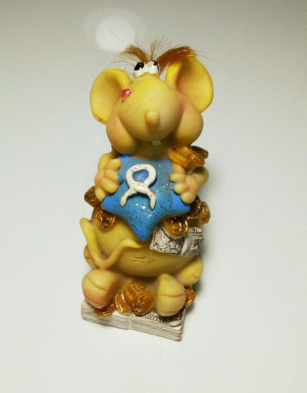 Статуэтка Мышь №16