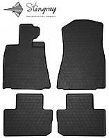 Ковры в автомобиль Лексус ИС 2013- Комплект из 4-х ковриков Черный в салон