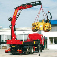 Складной кран-манипулятор грузоподъемность 3,5-7 тонн Micron Hydraulic