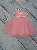 Шикарное бальное платье для девочки, р. 86