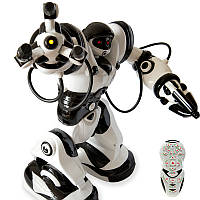 Робот на радиоуправлении Robowisdom интерактивный - Робот умеет выполнять 67 функций