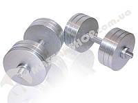 Гантели стальные наборные 2х26 кг (52 кг пара), фото 1
