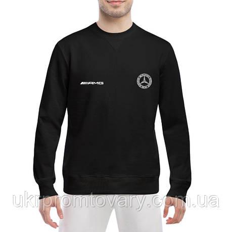 Свитшот мужской - Mercedes logo AMG, отличный подарок купить со скидкой, недорого, фото 2
