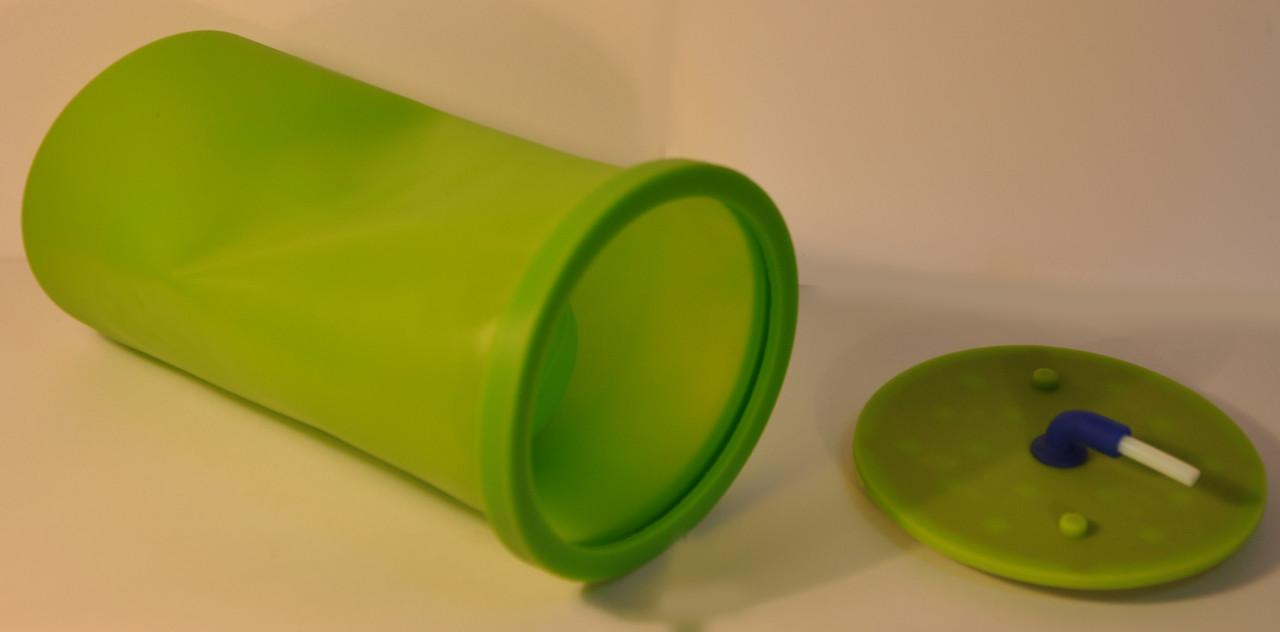 Силиконовая форма для сублимации на термобутылках