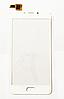 Оригинальный тачскрин / сенсор (сенсорное стекло) для Meizu U10 (белый цвет)