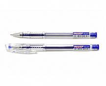 Ручки гелевые PIANO синие (12 шт/уп.)