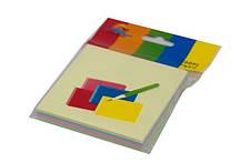 Блоки клейкие цветные (76x76mm) для заметок