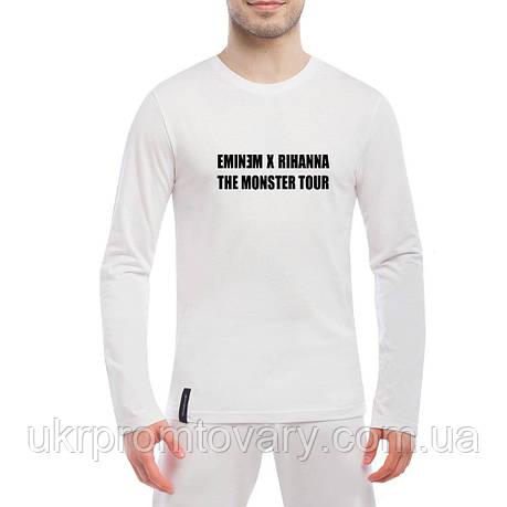 Лонгслив мужской - Eminem x Rihanna, отличный подарок купить со скидкой, недорого, фото 2