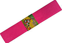 Бумага креповая МУЛЬТЯШКИ розовая (500х2000mm) для творчества