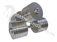 Гантели стальные наборные 2х50 кг (100 кг пара), фото 1