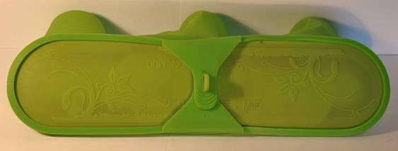 Силиконовая форма для сублимации на термокружках 3Х, фото 3