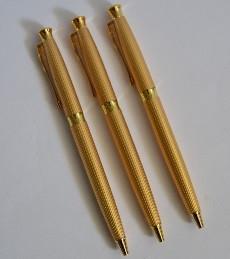 Ручки металеві поворотні BAIXIN (золото)
