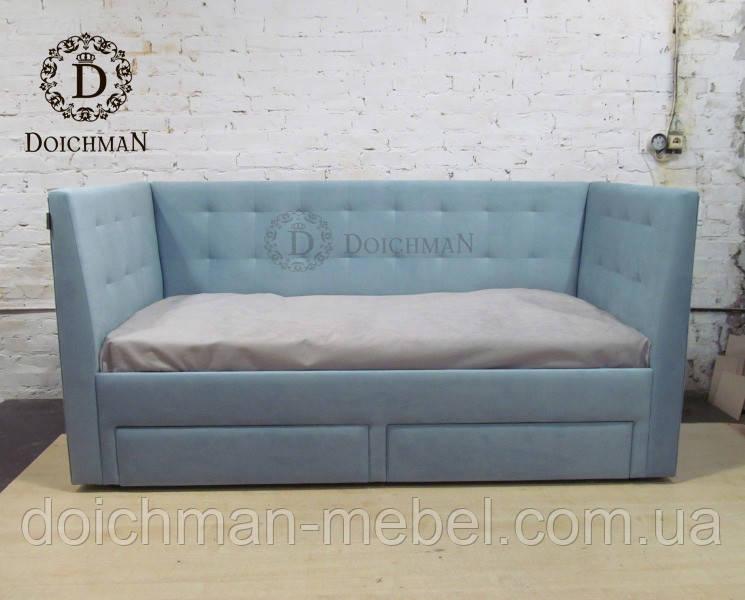 Кровать с мягкими бортами на заказ