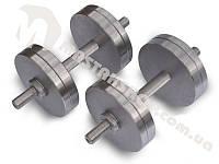 Силовые гантели весом от 12 до 50-ти кг, гантели парные