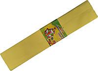 Бумага креповая МУЛЬТЯШКИ жёлтая (500х2000mm) для творчества