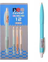 Ручки гелевые масляные NEOLINE синие