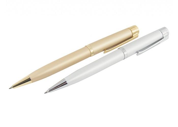 Ручки металлические поворотные BAIXIN (золото/серебро, микс)
