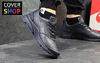 Кроссовки мужские Nike Air Presto, темно-синие, материал - кожа, подошва - пенка