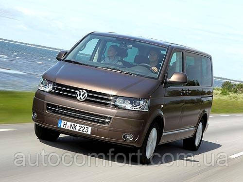 Лобовое стекло на Volkswagen Transporter Т5 / Фольксваген Транспортер Т5, Caravelle / Каравелла Multivan / 03-, фото 2