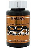 Креатин Scitec Nutrition 100% Pure Creatine Monohydrate (100 g)