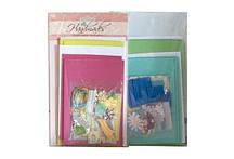 Поделки СДЕЛАЙ ОТКРЫТКУ (в наборе - 3 конверта+3 открытки+украшения)