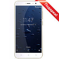 "➤Смартфон 5.2"" Cubot Note Plus, 3/32GB Gold 4 ядра изогнутый IPS FullHD экран Камера Sony 13.1Мп Android 7"