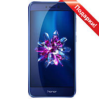 "☛Смартфон 5.2"" Huawei Honor 8 Lite, 4/32GB Blue 8 ядер IPS 2.5D экран камера 12 Мп батарея 3000 mAh Android 7"