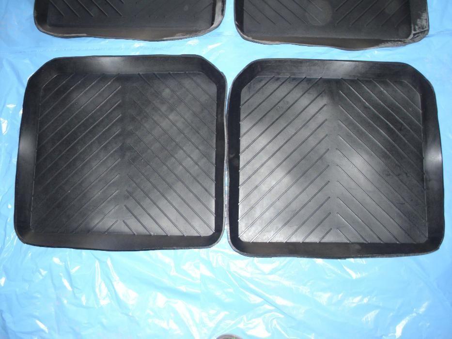 Коврики резиновые в салон ВАЗ 2101-07 (Задние) (Харьков)