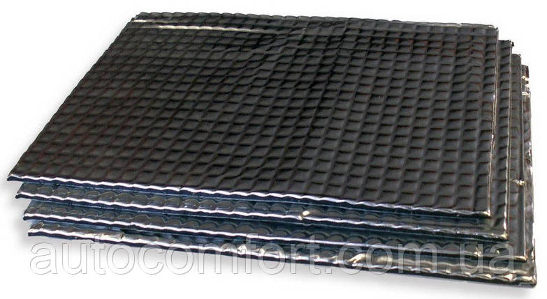 Обезшумка (виброизоляция) Max Level (700х500х2,3), фото 2