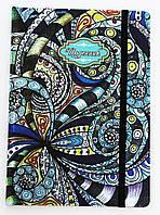 Дневники школьные A4 (укр) в твердой обложке, на резинке
