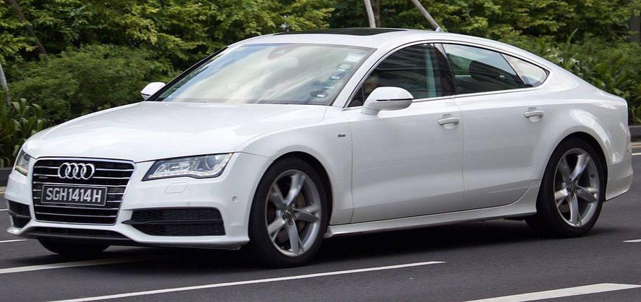 Лобовое стекло на Audi A7 (2010-) , фото 2