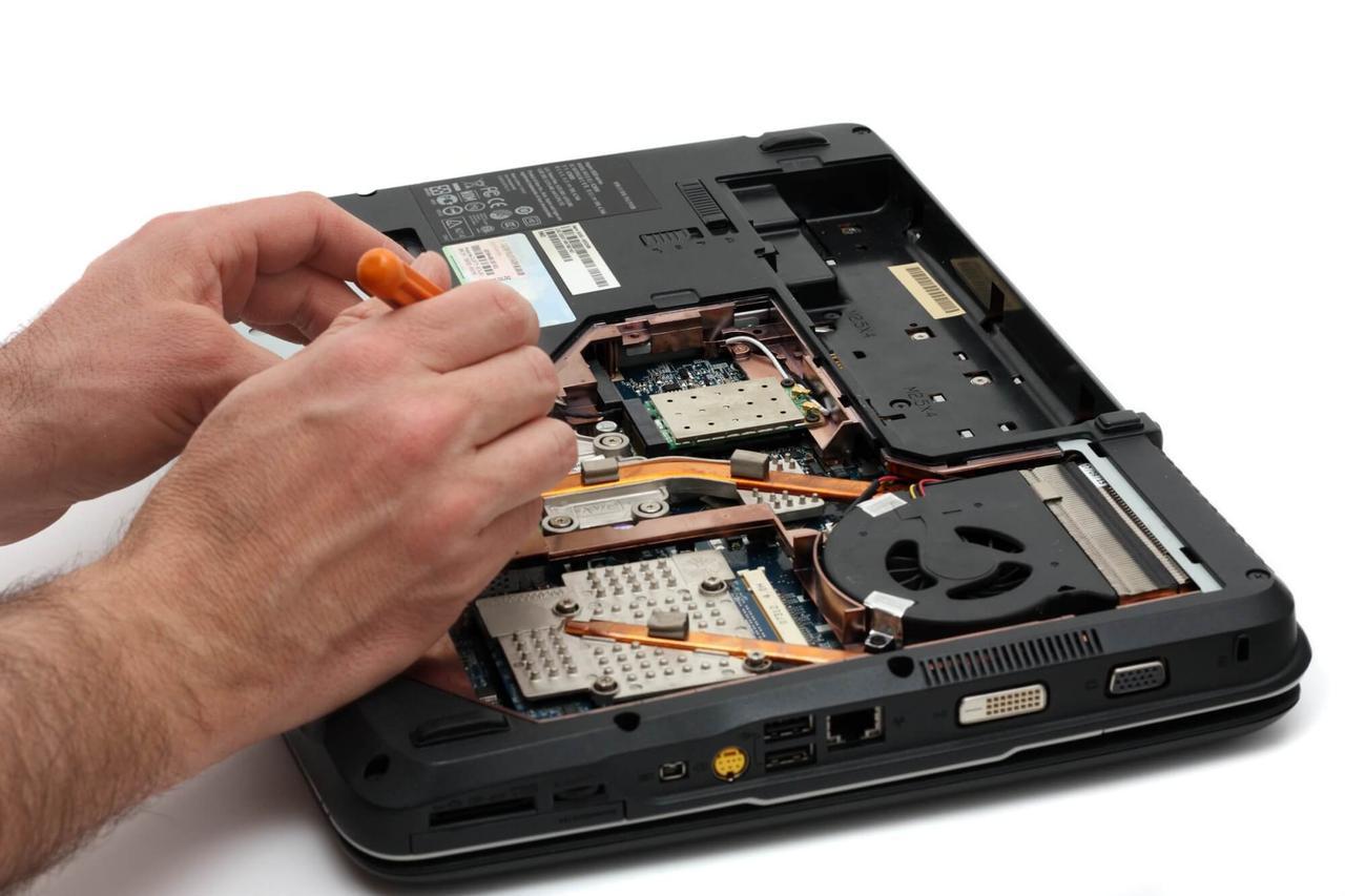 Профилактическая чистка ноутбука с заменой термопасты