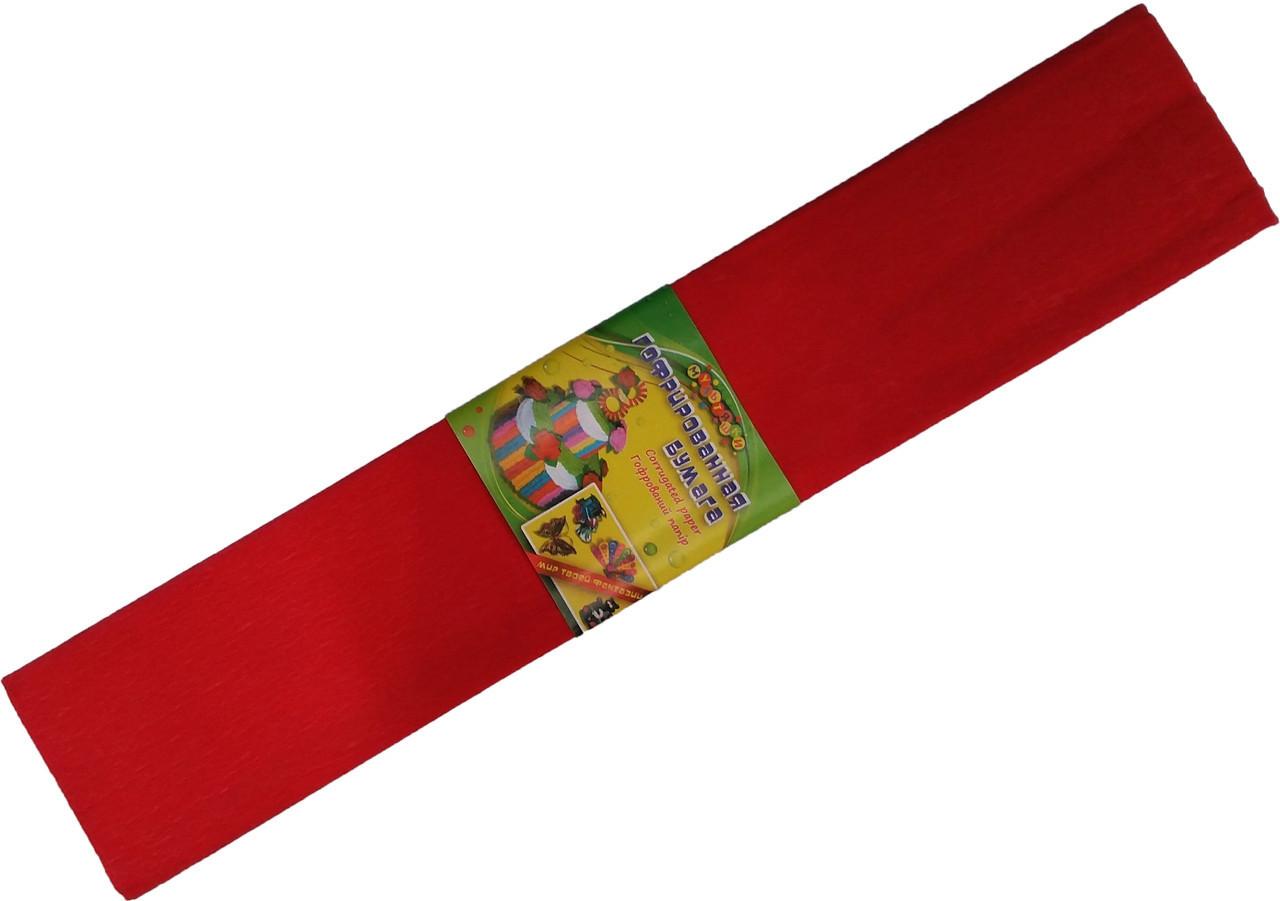 Бумага креповая МУЛЬТЯШКИ красная (500х2000mm) для творчества