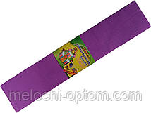 Папір креповая МУЛЬТЯШКИ фіолетова (500х2000мм) для творчості