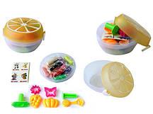 Тесто для лепки ЛИМОН (12 цветов, 6 формочек, ароматизированное)