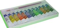 Фарби гуашеві 12 кольорів BASICS 6 мл/в тубі