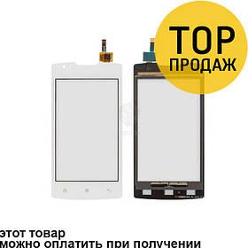 Сенсорный экран для мобильного телефона Lenovo A1000, белый