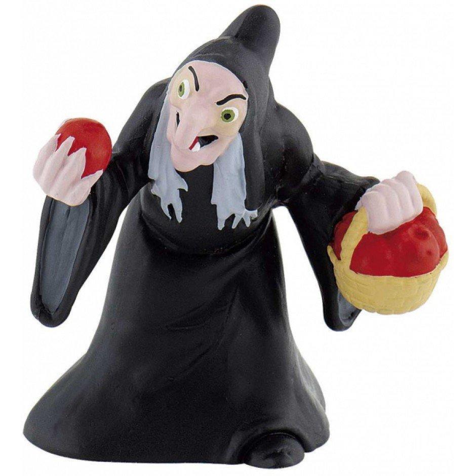 Фигурка Злая ведьма с яблоком Bullyland (12485) - FitUp (ФитАп) - Интрнет Магазин в Киеве